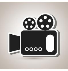 Digital camera design vector