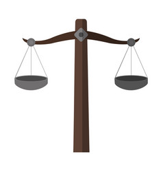 Empty balance icon image vector