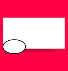 flat design empty esp template vector image
