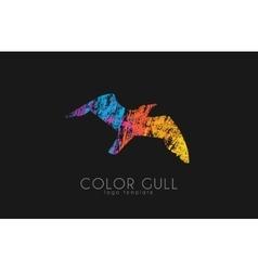 Gull logo Color gull Birl logo Creative logo vector