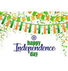 Indian independence day 5 vector