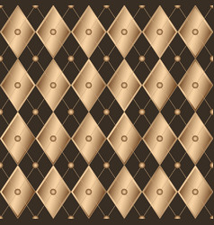 seamless brown geometric pattern wiith gradient vector image