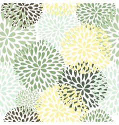 seamless pattern Modern floral texture Stylish vector image