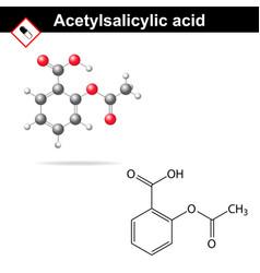 Acetylsalicylic acid vector