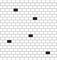 bricks background vector image