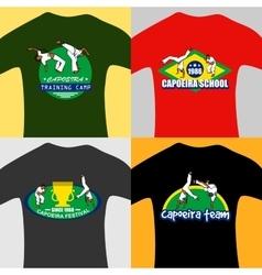 Capoeira prints vector