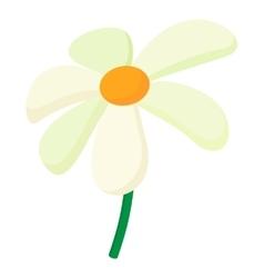 Chamomile icon cartoon style vector