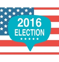 Election day poster 2016 USA vector