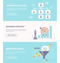 Elements of systematic business - structure vector image