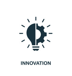 Innovation icon simple element from digital vector