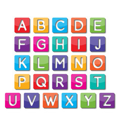Paper capital letter vector