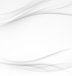 Soft abstract swoosh wave lines border layout vector