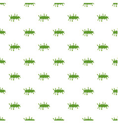 splattered mucus isolated on white background vector image