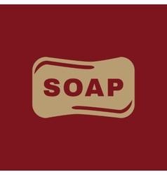 The soap icon Soap symbol Flat vector