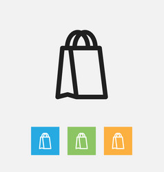 Of trade symbol on package vector