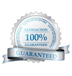 Premium guarantee label vector image vector image