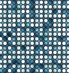 Abstract blue circle seamless vector