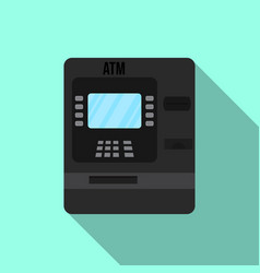 atm - automated teller machine vector image