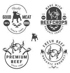 BEEF SHOPS vector image