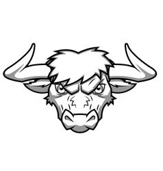Bull head 2 vector