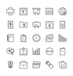 Finance Cool Icons 5 vector
