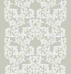 handmade ornament baroque decor background vector image