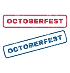Octoberfest Rubber Stamps vector