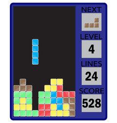 Tetris device interface vector