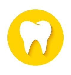 Tooth icon Dental logo vector