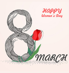 Womens day1 vector