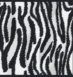 Zebra fur texture vector