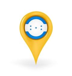 Location honduras vector