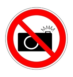 No photo camera icon 1004 vector image vector image