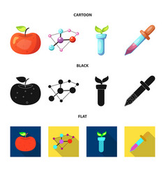 and sign collection of vector image