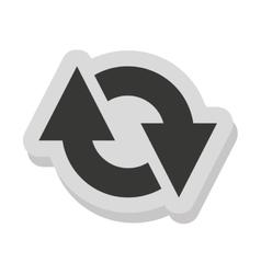 arrows signal index icon vector image