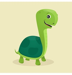 Cartoon style turtle vector