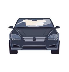 flat car vector image