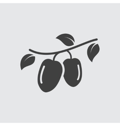 Goji icon vector image