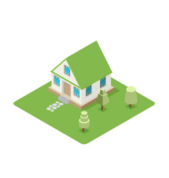 Isolated isomatic house property set vector
