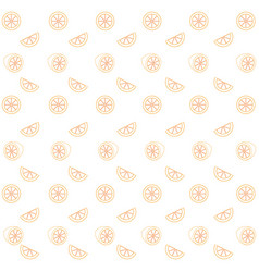 lemons pattern background vector image