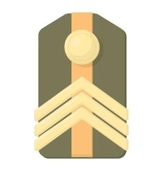 Shoulder straps icon cartoon style vector