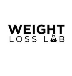 Weight loss lab logo design simple modern vector