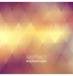 Abstract blur triangle pattern background vector