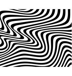 Black style wavy background vector