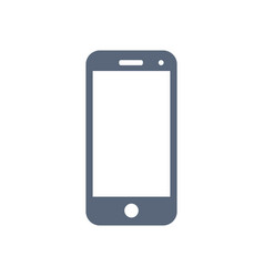 Mobile icon isolated on white background vector