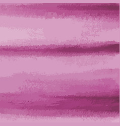 Pink watercolor texture background striped vector