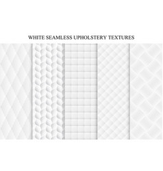 seamless white decorative soft textures vector image