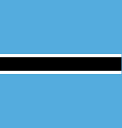 simple flag correct size proportion colors vector image