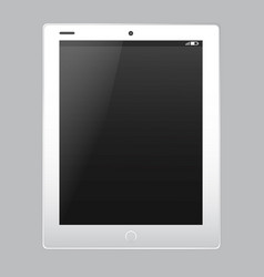tablet pc electronic device template vector image