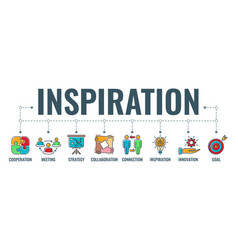 Teamwork inspiration typography banner vector